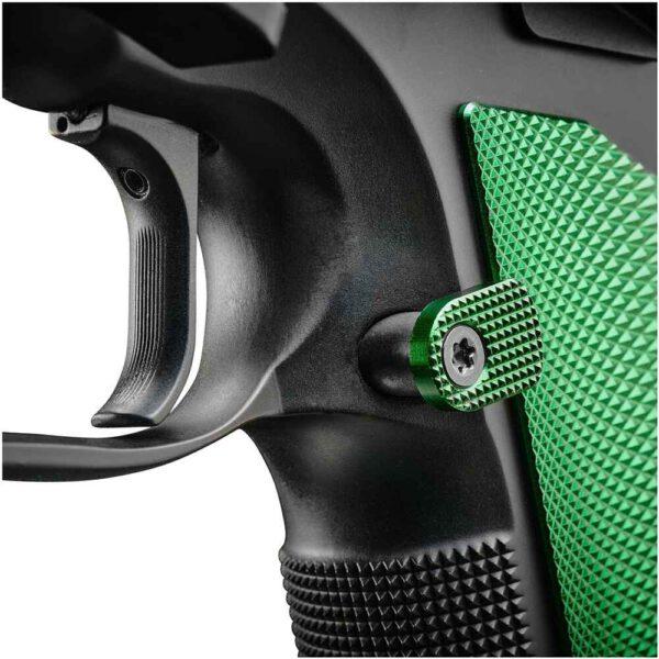 CZ TS 2 Racing Green Abzug 2
